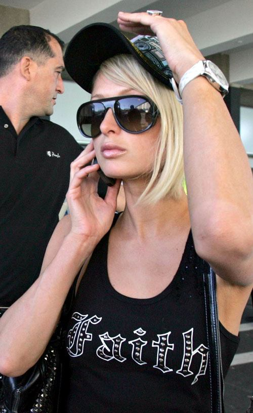 Paris Hilton Hits Cape Town